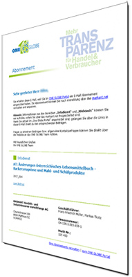 Infodienst-Newsletter